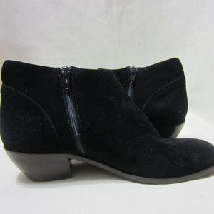 SAKS 5TH AVE VERO CUOIO 40 US SZ 9 BLK ANKLE BOOT